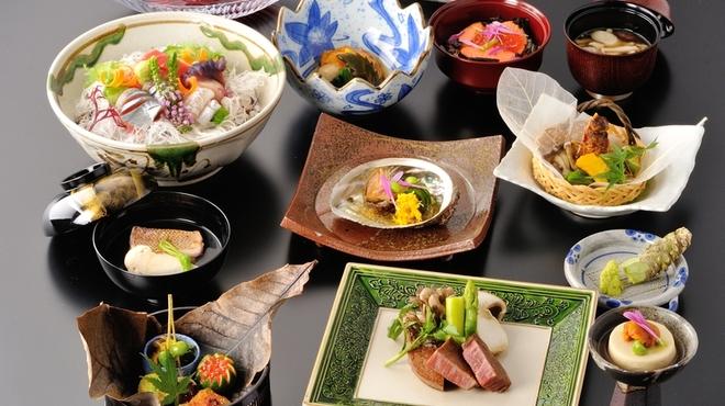 梵天丸 - 料理写真:和食会席一例