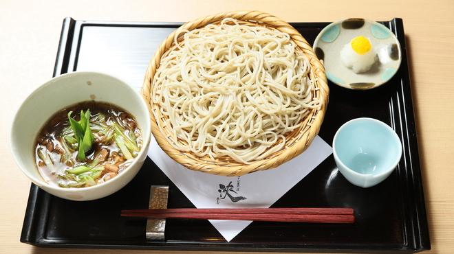 京都鴨そば専門店 浹 - 料理写真:鴨せいろ