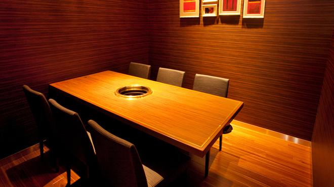 DOURAKU - 内観写真:プライベート感溢れる個室 個室×4部屋