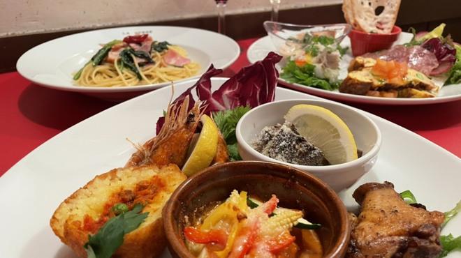 トラットリア ラ・ベルデ - 料理写真:サンキューコース!個別盛りです!!