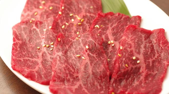 焼肉グレート - 料理写真:和牛赤身(ロース)780円(税別)