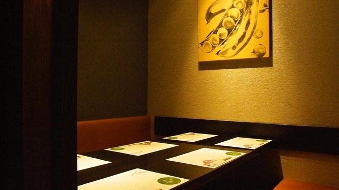 くらち - 内観写真:6名様のお部屋です