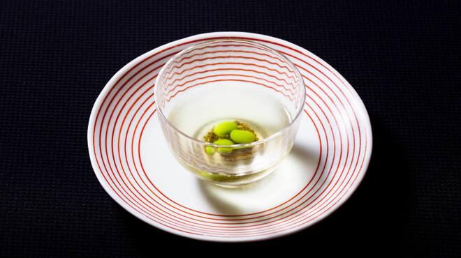 メゾン・ド・ユーロン - 料理写真:冷製完熟トマトのスープ
