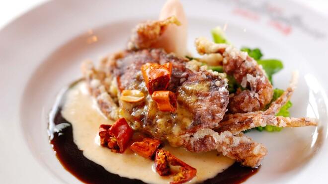 イルキャンティ - 料理写真:前菜より-ソフトシェルクラブの唐揚