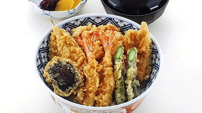 銀座 天一 - 料理写真:天丼調理例