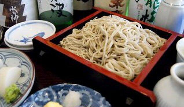 吉敷 末広 - 料理写真:お酒が選べる「ほろ酔いセット」昼間酒は蕎麦屋の特権
