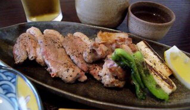 吉敷 末広 - 料理写真:鴨焼き!鴨好きにはたまりません!