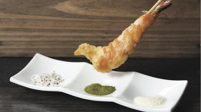楽天庵 - 料理写真:3種類の中からお好みの味でどうぞ!!