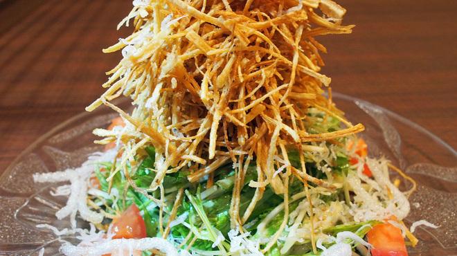 創作居酒屋 まる - 料理写真:ごぼうサラダ
