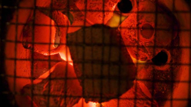 瓢箪 - 料理写真:《七輪》 お好みの焼き具合で、お楽しみください!!
