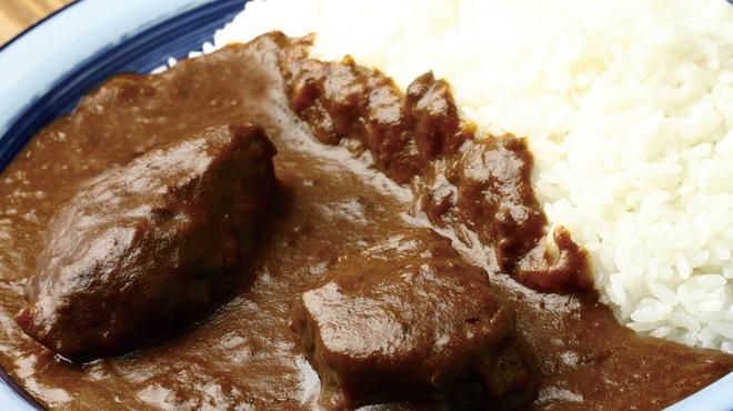 もうやんカレー 246 - 料理写真:牛一頭から1kgだけのホホ肉使用!昔っからある