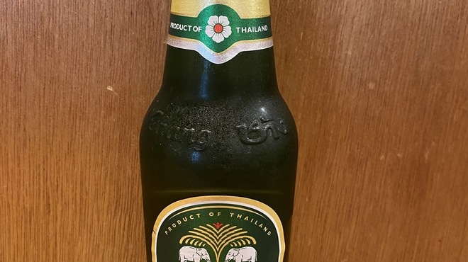 タイ酒場 サラパオ - ドリンク写真:タイビールチェンビール