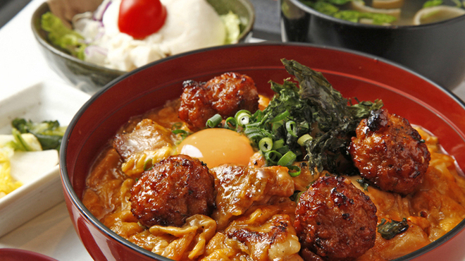 鶏匠庵 - 料理写真:親子丼 玉子入り 上