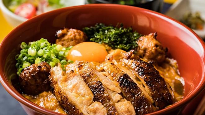 鶏匠庵 - 料理写真:親子丼 特上 錦店