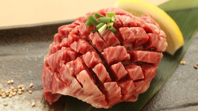 食彩和牛しげ吉 - 料理写真:TV出演の「まるごとハラミ」