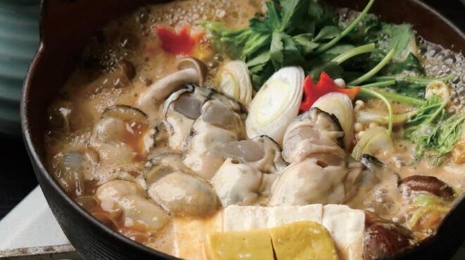 かなわ - 料理写真:かき鍋コース