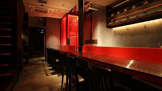 南屋韓国食堂 - 内観写真:1Fカウンター席