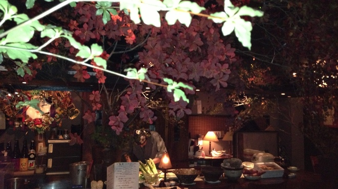 福皆来 - 内観写真:落ち着いた雰囲気の店内