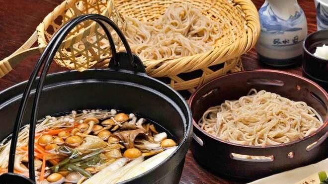 みよ田 - 料理写真:宴会コースはとうじそばor冷たい蕎麦が選べます