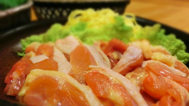 ちゃこ - 料理写真:要予約! コラーゲンスープの鶏鍋!新鮮で食べごろ!!