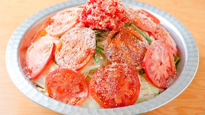 夢家 - 料理写真:『イタリアンもつ鍋コース』