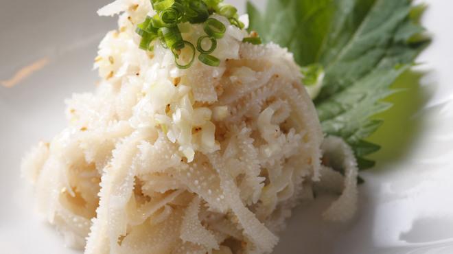 新宿ホルモン - 料理写真:白センマイ刺