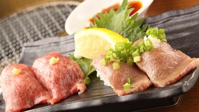 焼肉 炙 - 料理写真:はねしたのにぎりと炙り寿司