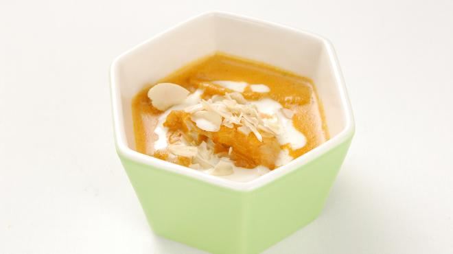 カンティプール - 料理写真:アーモンドチキンカレー
