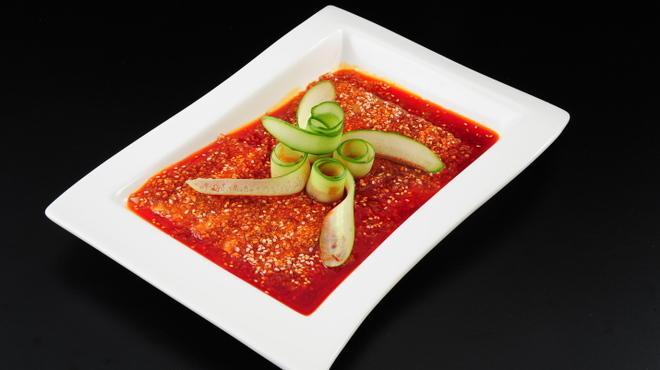 百菜百味 - 料理写真:豚バラ肉のニンニクソース 780円