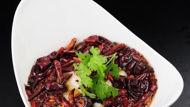 百菜百味 - 料理写真:鱈の四川香辛料煮 1780円