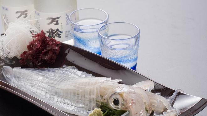 お魚処 玄海 - 料理写真:いかの活き造り