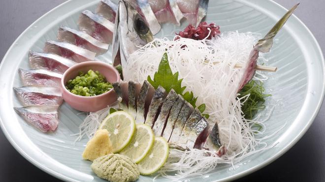 お魚処 玄海 - 料理写真:天然さば造り・たたき