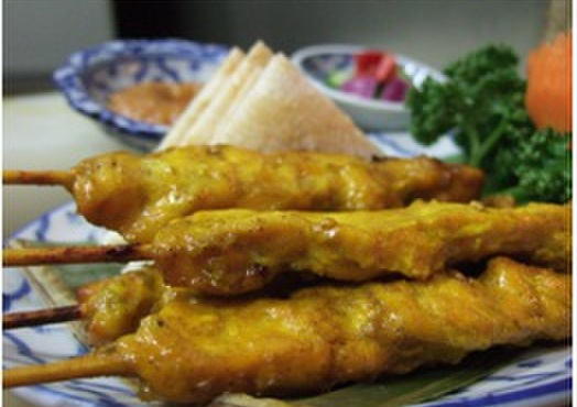 マイペンライ - 料理写真:A4 サテ カイ  (895¥)