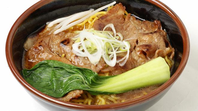 麺屋 開高 - 料理写真:帯広名物「豚丼」がラーメンになりました。