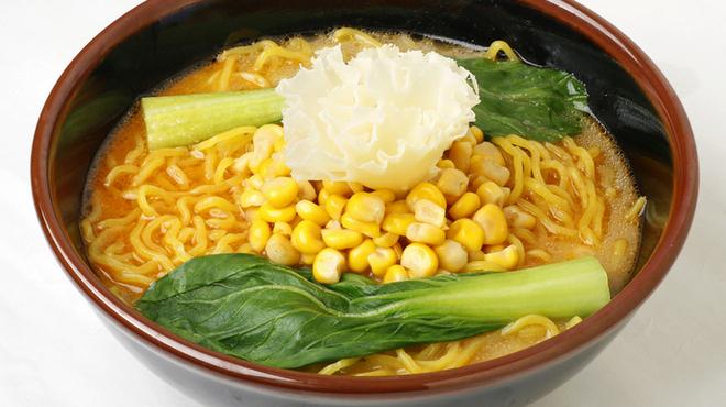 麺屋 開高 - 料理写真:十勝コーンチーズ麺