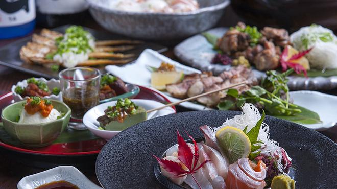 桜屋 - 料理写真:人気メニューが楽しめる多彩なコース料理