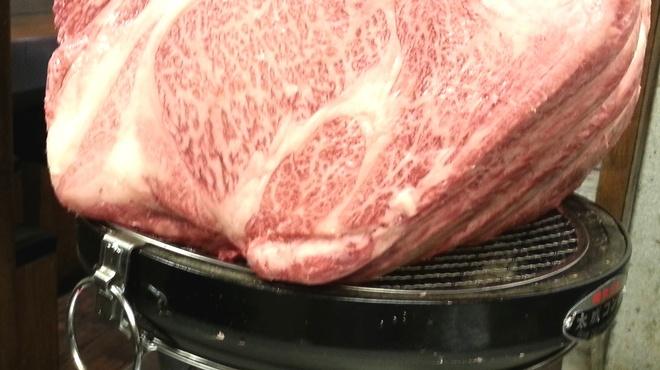 とんつう - 料理写真:南極焼き15キロ  すべての肉ファンに贈る肉の王者です。