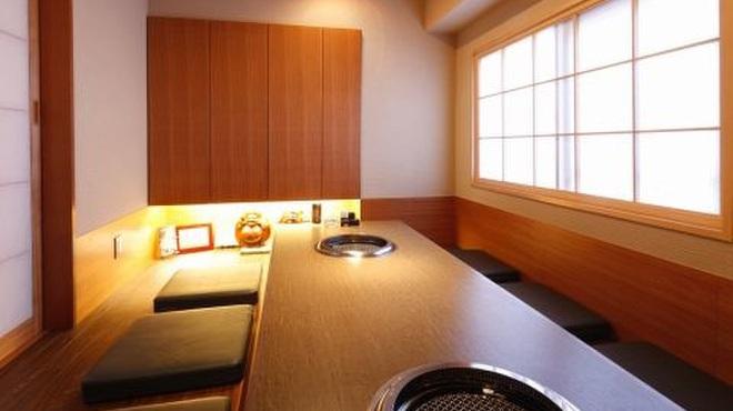 蔓牛焼肉 太田家 - 内観写真:掘りごたつの個室。接待などにもお使い頂けます。