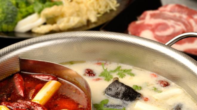 金燕酒家 - 料理写真:美と健康の金燕火鍋セット。身体の中から美しく健康に・・・