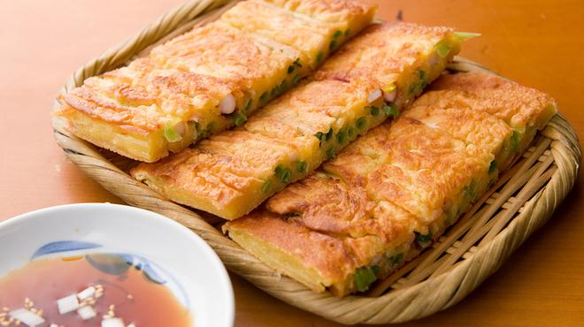 銀座 王十里 - 料理写真:海鮮ネギチヂミ