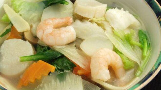春香園 - 料理写真:海鮮タンメン