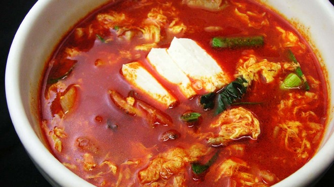 なんこう園 - 料理写真:ユッケジャンスープ