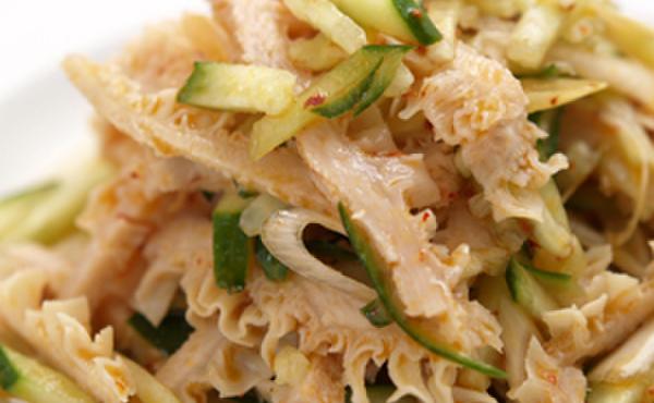 中国家庭料理 楊 - 料理写真:くらげと胡瓜