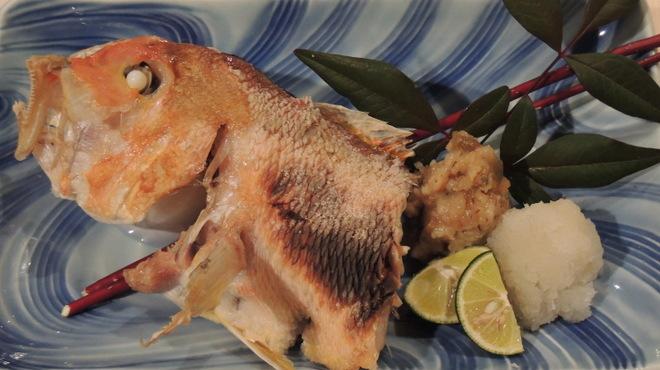 旬菜 いまり - 料理写真:甘鯛炭焼き