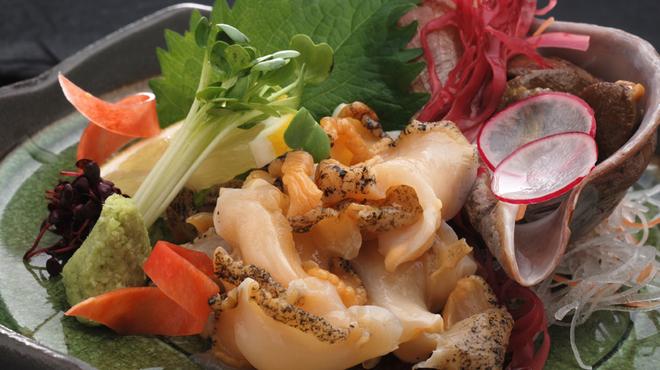 瓢 - 料理写真:つぶ刺身