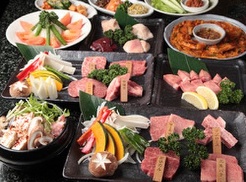 横浜苑 - 料理写真:コースは3500円~