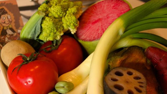 ポピーノ - 料理写真:こだわりの野菜たち