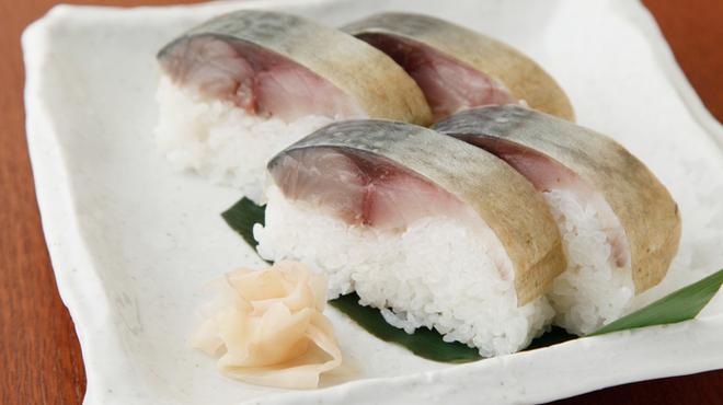 味人 - 料理写真:鯖寿司