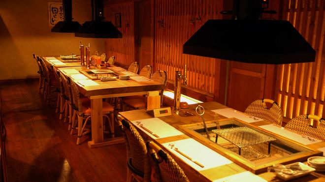 和火一 - 内観写真:最大20名様の個室がございます