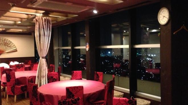 第一楼 - 内観写真:京都の夜景を眺めながら・・・